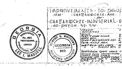 chattahoochee industrial stamps
